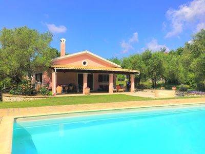 Photo for Villa Cleopatra: Comfortable villa with 4 bedrooms and private swimming pool close to Gouvia
