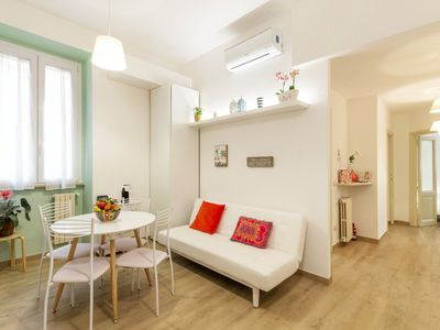 Photo for La Romantica al Colosseo charming apartment close to the Coliseum