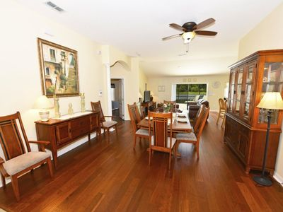 Photo for LOVELY LAKESIDE 4BD POOL HM in Villa Sol Resort Community, Close to Golf Courses/Orlando Attractions
