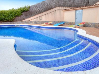 Photo for Vacation home Luz in Lloret de Mar - 6 persons, 3 bedrooms