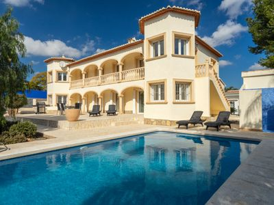 Photo for Vacation home Castellon in Moraira - 8 persons, 4 bedrooms