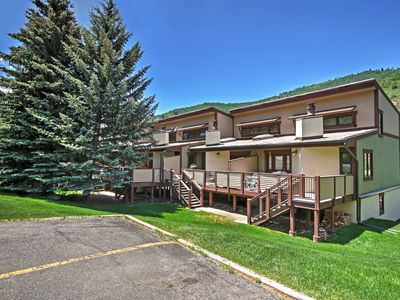 Photo for 3BR Vail Townhome w/Mtn Views & Free Shuttle