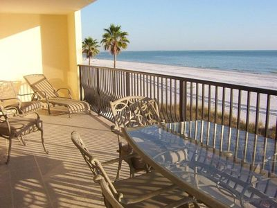 Photo for 3BR/2BA Beachfront Condo w/Fabulous Gulf View 1500SF, Next Vacancy June 2019