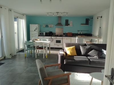 Photo for House T2 on one level with its private terrace, Lorient