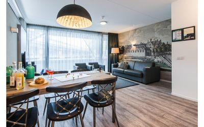Photo for Bright and modern two bedroom apartment with canal view