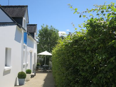 Photo for Independent House in Quiet Garden with - Port St Goustan -Golfe Morbihan