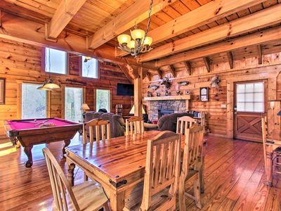 Photo for NEW-Sevierville Cabin w/Hot Tub 7 Mi. to Dollywood