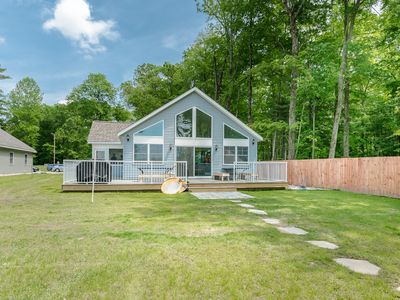 Photo for *NEW DEC 2018* Eagles Nest-Lkfront Priv Beach Dock Secluded-S Haven, Saugatuck