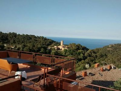 Photo for Begur. Duplex with views. 3 rooms / bedrooms.