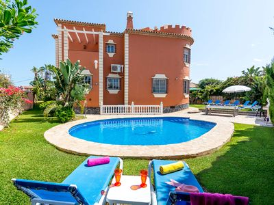 Photo for BEAUTIFUL VILLA WITH HEATED POOL POOL NEXT