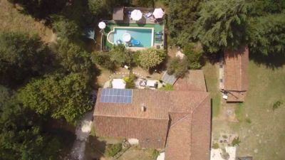 Photo for Lovely French Gite, . Exclusive heated 10 x 5m pool. character accomodation,