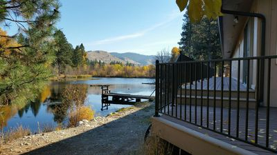 Trout Farm ponds, wildlife corridor along creek...a perfect vacation getaway