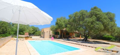 Photo for Els Ullastres, Wi-fi, Pool, Garden, 5 Minutes From the beach S'Estanyol Es Trenc
