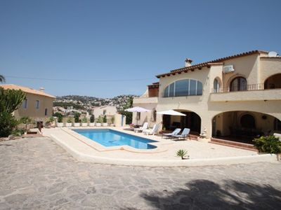 Photo for Beaulieu - holiday home with private swimming pool in Moraira