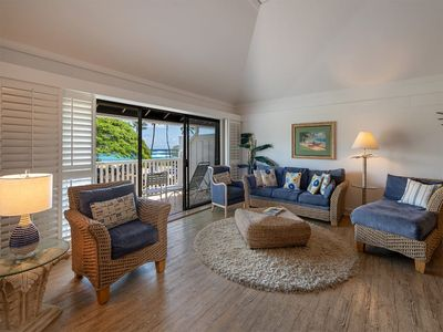 Photo for Surf's Up! Chic Suite w/Lanai Vistas, WiFi, Modern Kitchen–Kiahuna Plantation #2203