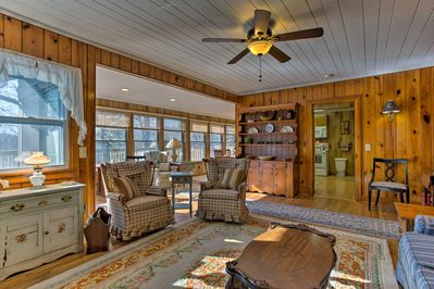 Rustic charm and lovely decor is sure to make you feel right at home.