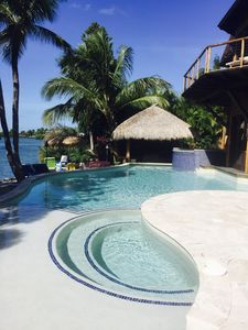 Views from the Pool, Beach and Tiki Hut