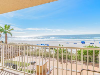 Photo for Recently Renovated and Refurbished Luxury  3 Bedroom 2 Bath Gulf Front Condo