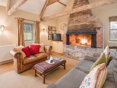 Photo for THE SMITHY, Crookham - Idyllic Cottage for a Relaxed Cosy Break, sleeps 2