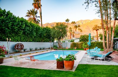 Backyard - Welcome to Palm Springs! This house is professionally managed by TurnKey Vacation Rentals.
