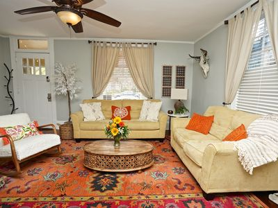 Photo for BEST NIGHT LIFE LOCATION! Historic Luxury Riverside home, Walk to bars and food