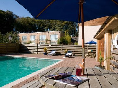 Photo for Outdoor heated swimming pool!