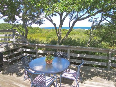The sights and sounds of Nauset Beach and the Atlantic are yours from your deck.