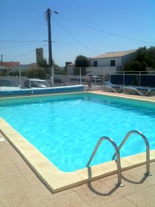 Photo for F2 ILE D'OLERON AT THE COTINIERE - SEA & SWIMMING POOL - IDEAL FAMILY