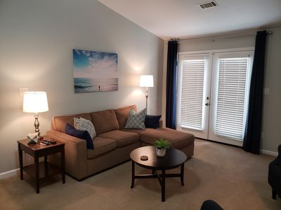 Photo for Walk to Masters! 2 BD & 2BA