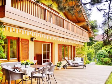 5 star luxury accommodation, Chiemsee immediate vicinity, the conservation area