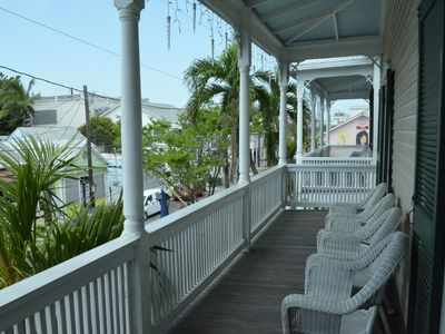 Photo for Large Duval Street Apartment w/ Private Balcony and Parking