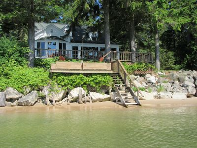 Photo for BEAUTIFUL LAKE MICHIGAN BEACH FRONT HOME!!! NORTH OF MILWAUKEE  AND NEAR KOHLER