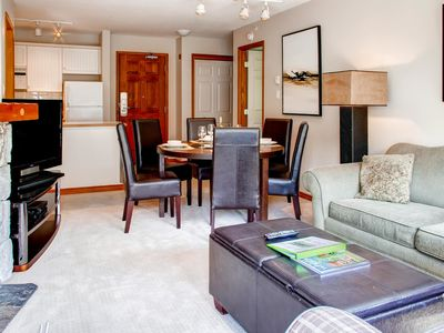 Photo for Prime Ski-in Ski-out Location! Top Floor Unit, Pool, Hot tubs, BBQ (547)