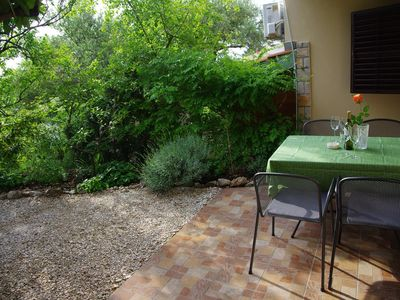 Photo for Two bedroom apartment with terrace Podgora, Makarska (A-6779-b)