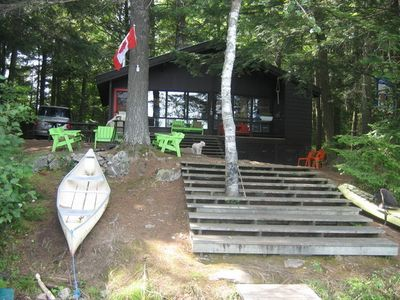 Photo for Lake Front Cottage - Val-Des-Monts, Quebec - 23 Miles from Parliament Hill