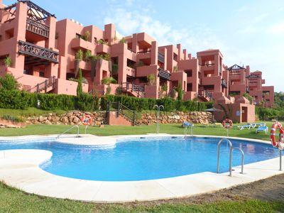 2 pools. Adult and children's. Further 8 pools on the complex. Free sunbeds