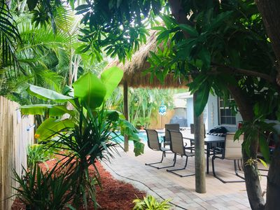 Photo for Sunny Fort Lauderdale home /Tiki Hut /HEATED pool