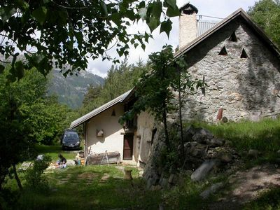 Photo for Alpine chalet rental at 1700m altitude for 10 pers. with exceptional view on the southern slope of the Guisane Valley