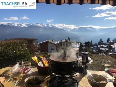 Photo for Beautiful 4-room duplex apartment in the heart of the resort. Superb view of the Alps, access to the