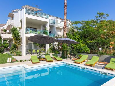 Photo for Charming apartment with beautiful seaview, perfect for families and friends...
