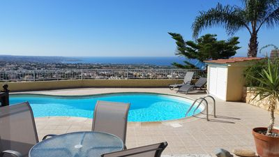 """Photo for 3 Bedroom Townhouse Peyia """"Sea Views"""""""