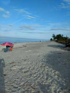 Photo for Directly on Manasota Key with gulf and private beach access!