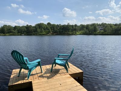 Beautiful Lakefront w Private Beach/Hot Tub/ Boats/ Fire Pit