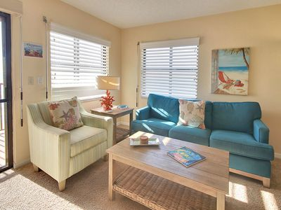 Photo for Emerald Isle #604 -Beautiful TOP FLOOR condo,DIRECT GULF view/Private balcony