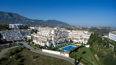 Photo for Bright & Spacious Townhouse, Mijas Golf