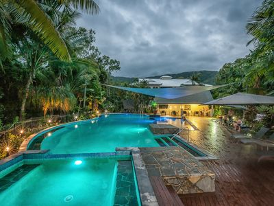 Photo for Large  self contained 3 bedroom apartments set in  2.5 acres of tropical gardens
