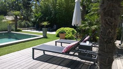 "Photo for ""The House of Casarie"" Orangery with garden, pool, comfort"