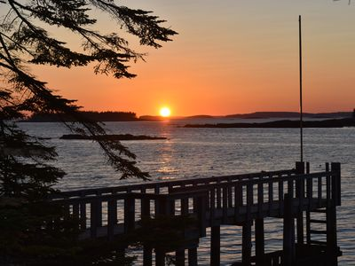 Photo for Bold Ocean Views and Quiet rest on Beals Island Maine