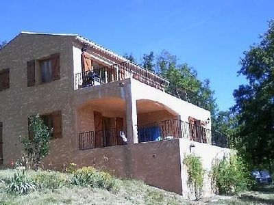 Photo for Modern villa, five minutes from huge clear water lake