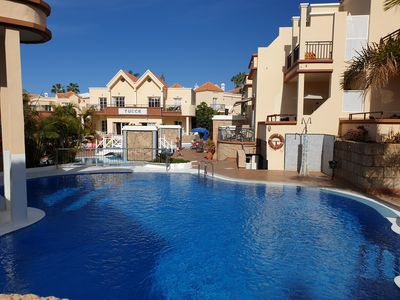 Photo for Casa Yucca with heated pool, terrace, only 150m to the beach, sea view, Wifi